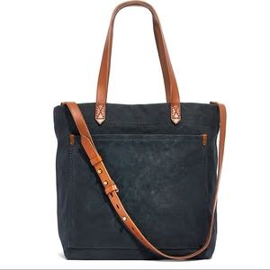 New Madewell The Canvas Medium Transport Tote